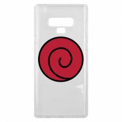 Чехол для Samsung Note 9 Сlan Uzumaki