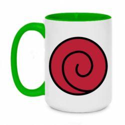Кружка двухцветная 420ml Сlan Uzumaki
