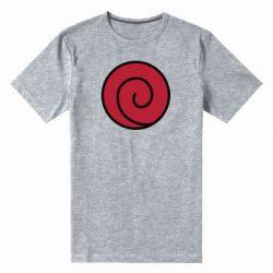 Мужская стрейчевая футболка Сlan Uzumaki