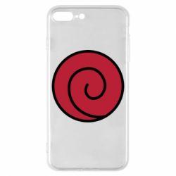 Чехол для iPhone 8 Plus Сlan Uzumaki