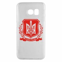 Чехол для Samsung S6 EDGE Слава Україні (вінок)