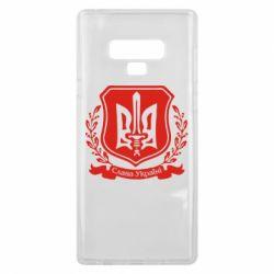 Чехол для Samsung Note 9 Слава Україні (вінок)