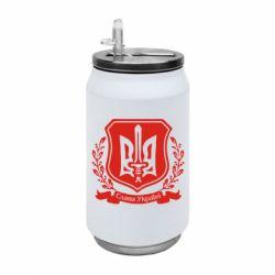 Термобанка 350ml Слава Україні (вінок)
