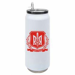 Термобанка 500ml Слава Україні (вінок)