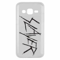 Чехол для Samsung J2 2015 Slayer scratched