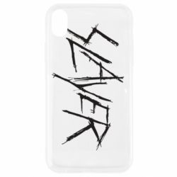 Чехол для iPhone XR Slayer scratched