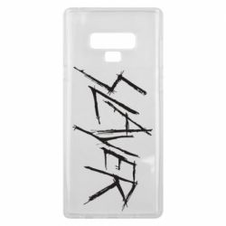 Чехол для Samsung Note 9 Slayer scratched