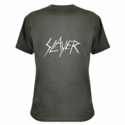 Камуфляжная футболка Slayer scratched