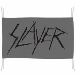 Флаг Slayer scratched