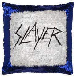 Подушка-хамелеон Slayer scratched