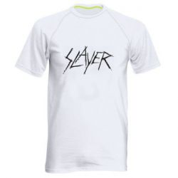 Мужская спортивная футболка Slayer scratched