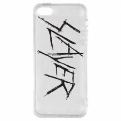 Чехол для iPhone5/5S/SE Slayer scratched