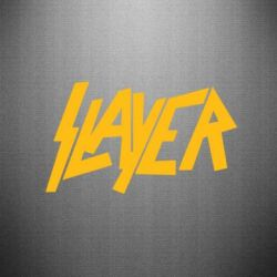 Наклейка Slayer - FatLine