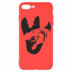 Чехол для iPhone 7 Plus След динозавра