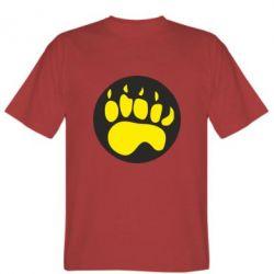 Мужская футболка слід - FatLine
