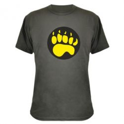 Камуфляжная футболка след - FatLine