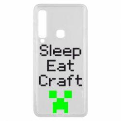 Чохол для Samsung A9 2018 Sleep,eat, craft