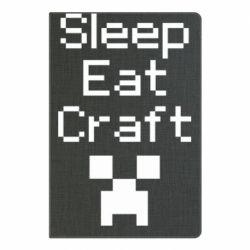 Блокнот А5 Sleep,eat, craft