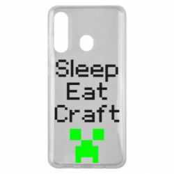 Чохол для Samsung M40 Sleep,eat, craft