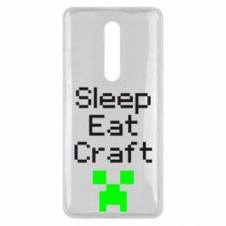 Чехол для Xiaomi Mi9T Sleep,eat, craft