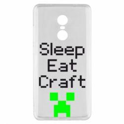 Чехол для Xiaomi Redmi Note 4x Sleep,eat, craft