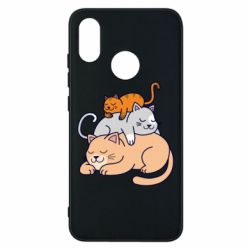 Чехол для Xiaomi Mi8 Sleeping cats