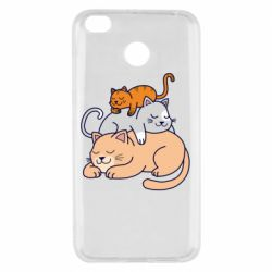 Чехол для Xiaomi Redmi 4x Sleeping cats