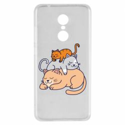 Чехол для Xiaomi Redmi 5 Sleeping cats