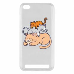 Чехол для Xiaomi Redmi 5A Sleeping cats