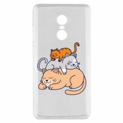 Чехол для Xiaomi Redmi Note 4x Sleeping cats
