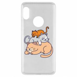 Чехол для Xiaomi Redmi Note 5 Sleeping cats