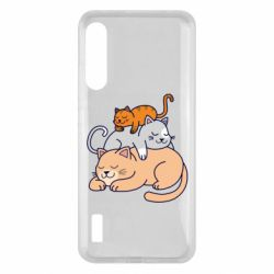 Чохол для Xiaomi Mi A3 Sleeping cats