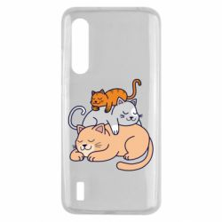 Чехол для Xiaomi Mi9 Lite Sleeping cats
