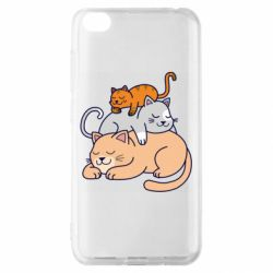 Чехол для Xiaomi Redmi Go Sleeping cats