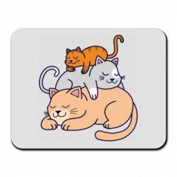Килимок для миші Sleeping cats