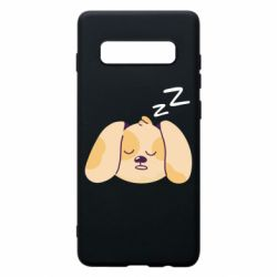 Чохол для Samsung S10+ Sleeping dog