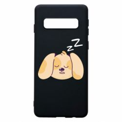 Чохол для Samsung S10 Sleeping dog