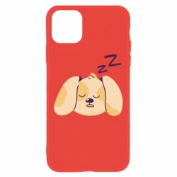 Чохол для iPhone 11 Sleeping dog
