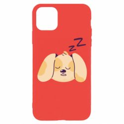 Чохол для iPhone 11 Pro Sleeping dog