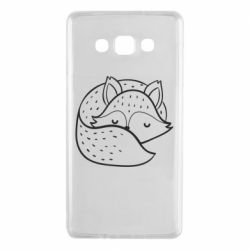 Чохол для Samsung A7 2015 Sleeping fox