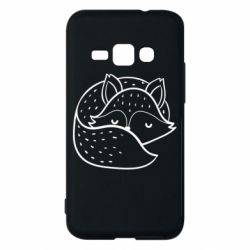 Чохол для Samsung J1 2016 Sleeping fox
