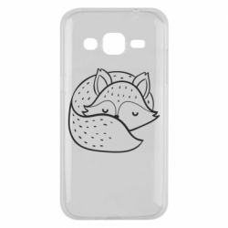 Чохол для Samsung J2 2015 Sleeping fox