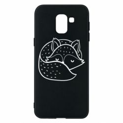 Чохол для Samsung J6 Sleeping fox