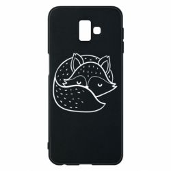 Чохол для Samsung J6 Plus 2018 Sleeping fox