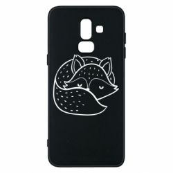 Чохол для Samsung J8 2018 Sleeping fox