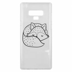 Чохол для Samsung Note 9 Sleeping fox
