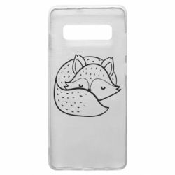 Чохол для Samsung S10+ Sleeping fox