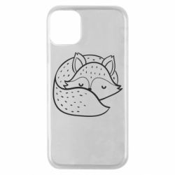 Чохол для iPhone 11 Pro Sleeping fox