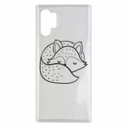 Чохол для Samsung Note 10 Plus Sleeping fox