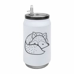 Термобанка 350ml Sleeping fox